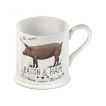 Creative Tops Country Farmers Market Pig Tankard Mug - 250ml