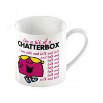 Creative Tops Mr Men Little Miss Chatterbox Can Mug