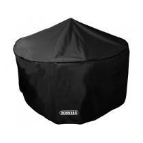 Bosmere D520 Storm Black 4/6 Seater Circular Patio Set Cover