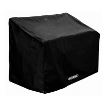 Bosmere D610 Storm Black 3 Seater Bench Cover