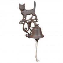 Fallen Fruits (Db82) Cast Iron Cat Doorbell