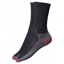Dickies Cushion Crew Socks - Black - 5 Pairs