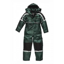 Dickies Mens Waterproof Padded Overalls (WP15000) Green - XL