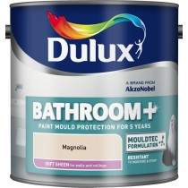 Dulux Bathroom Magnolia - Soft Sheen Emulsion - 2.5L