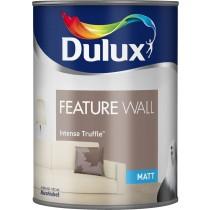 Dulux Feature Wall Intense Truffle - Matt Emulsion - 1.25LInt