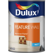 Dulux Feature Wall Moroccan Flame - Matt Emulsion - 1.25L
