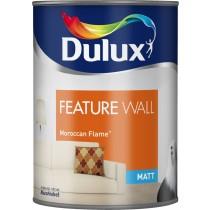 Dulux Feature Wall Moroccan Flame - Matt Emulsion - 1.25L