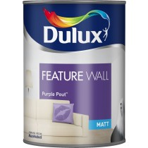 Dulux Feature Wall Purple Pout - Matt Emulsion - 1.25L