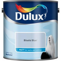Dulux Bliss Blue - Matt Emulsion Paint - 2.5L