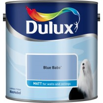 Dulux Blue Babe - Matt Emulsion Paint - 2.5L