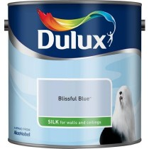 Dulux Bliss Blue - Silk Emulsion Paint - 2.5L