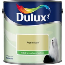 Dulux Fresh Stem - Silk Emulsion Paint - 2.5L