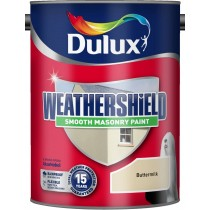 Dulux Weathershield Buttermilk - Smooth - 5L