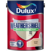 Dulux Weathershield Cornish Cream - Smooth - 5L