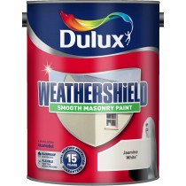 Dulux Weathershield Jasmine White - Smooth - 5L