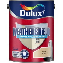 Dulux Weathershield County Cream - Textured - 5L