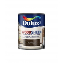 Dulux Interior/Exterior Woodsheen - Dark Walnut - 250ml