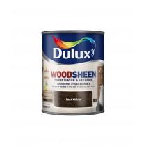 Dulux Interior/Exterior Woodsheen - Dark Walnut - 250ml