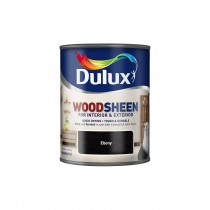 Dulux Interior/Exterior Woodsheen - Ebony - 250ml