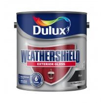 Dulux Weathershield Black - Gloss - 2.5L