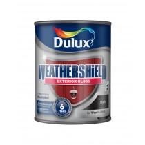 Dulux Weathershield Black - Gloss - 750ml