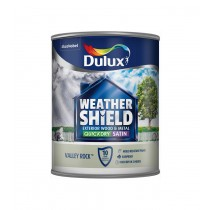 Dulux Weathershield Valley Rock - Satin - 750ml