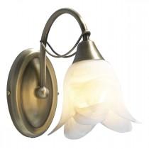 DAR DOU0775 Doublet Single Wall Light - Antique Brass