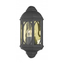 Dar Lighting TEN2122 Tenby Wall Light - Black
