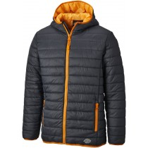 Dickies 22 Stamford Puffer Jacket (DT7024) Grey/Orange - M