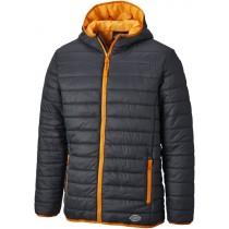 Dickies 22 Stamford Puffer Jacket (DT7024) Grey/Orange - XL