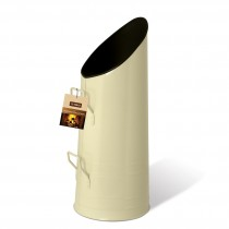 De Vielle (DEF762854) Coal Holder - Antique Cream