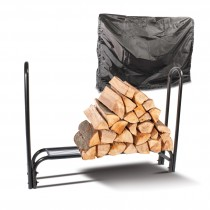 De Vielle (DEF761215) Log Holder With Black Cover