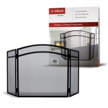 De Vielle (DEF055177) Classic 3 Panel Firescreen