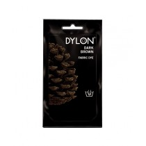 Dylon Fabric Dye for Hand Use - Dark Brown - 50g