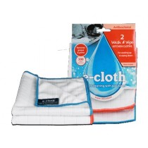 E-Cloth WWC Wash and Wipe Kitchen Cloths - Pack of 2