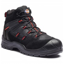 Dickies Everyday Safety Boot (FA247B) Black/Red - Size 7