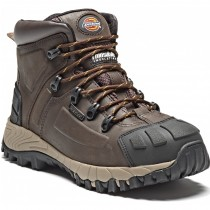 Dickies Medway Safety Hiker (FD23310) Brown - Size 8