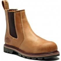 Dickies Fife II Dealer Boot (FD9214A) Tan - Size 7