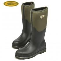 Grubs Fenline 5.0 Wellington Boots - Moss Green - Size 4