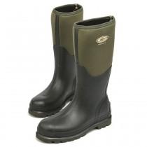 Grubs Fenline 5.0 Wellington Boots - Moss Green - Size 9