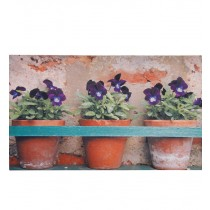 Fallen Fruits - Flower Pot Printed Doormat (Rubber)