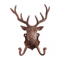 Fallen Fruits Deer Cast Iron Coat Hook
