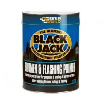 Everbuild 902 Black Jack Bitumen & Flashing Primer - 5L