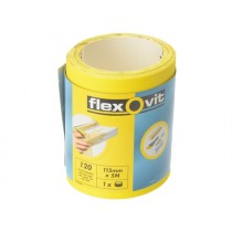 Flexovit High Performance Sanding Roll - 115mm x 5m - 120g