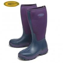Grubs Frostline 5.0 Wellington Boots - Violet Purple - Size 8