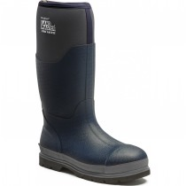 Dickies Landmaster Pro Safety Wellies (FW9902) Navy/Grey - Size 9
