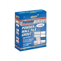 Everbuild Forever White Powder Wall Tile Grout - 3kg