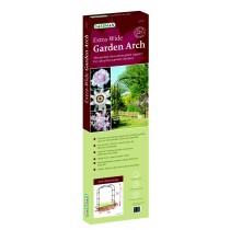 Gardman Extra Wide Garden Arch - 1.9m x 1.5m