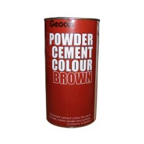 Geocel Powder Cement Colour (Brown) 1kg