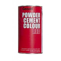 Geocel Powder Cement Colour (Red) 1kg